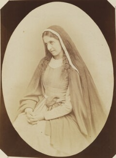 'Virgin Mary' (Scene from Oberammergau Passion Play), by Unknown photographer - NPG P1273(32b)