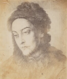 Christina Rossetti, after Dante Gabriel Rossetti - NPG P1273(1b)