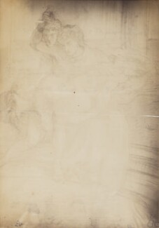 Study for 'Aspecta Medusa', after Dante Gabriel Rossetti - NPG P1273(3)
