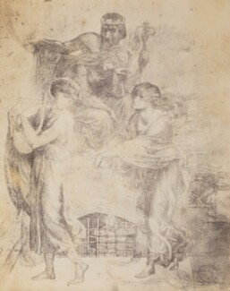 Study for 'Orpheus and Eurydice', after Dante Gabriel Rossetti - NPG P1273(5)
