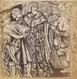 'The Parable of the Vineyard: The Letting of the Vineyard', after Dante Gabriel Rossetti - NPG P1273(6)