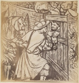 'The Parable of the Vineyard: To Receive the Fruit', after Dante Gabriel Rossetti - NPG P1273(7)