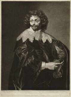 possibly Thomas Chaloner, by Richard Earlom, after  George Farington, after  Sir Anthony van Dyck - NPG D32819