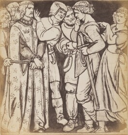 'The Parable of the Vineyard: The Arrival of the Lord's Son', after Dante Gabriel Rossetti - NPG P1273(8)
