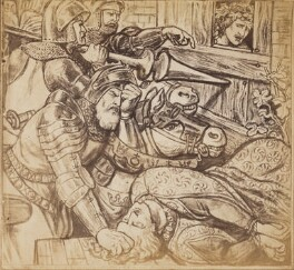 'The Parable of the Vineyard: The Slaying of the Lord's Son', after Dante Gabriel Rossetti - NPG P1273(9)