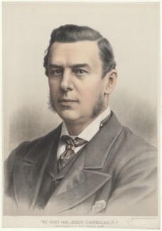 Joe Chamberlain, by Maclure & Macdonald, after  London Stereoscopic & Photographic Company - NPG D32827