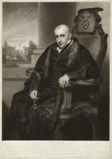 Thomas Chambers, by William Ward, after  Thomas Stewardson - NPG D32830