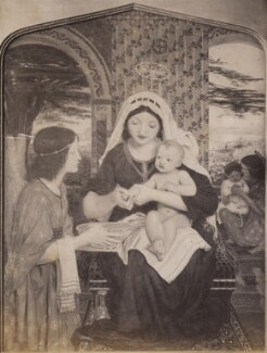 'Our Lady of Good Children', after Ford Madox Brown - NPG P1273(10b)