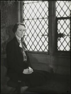 Hon. Mrs Herbert, by Bassano Ltd - NPG x154004