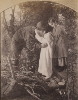 'Home from work', by William Edward Gray, after  Arthur Hughes - NPG P1273(12a)