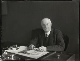 Sir Francis Norie-Miller, 1st Bt, by Bassano Ltd - NPG x154007