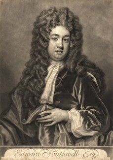 Edward Southwell, by and published by John Smith, after  Sir Godfrey Kneller, Bt - NPG D9187