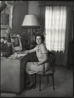 Lady Maureen Helen Stanley (née Vane-Tempest-Stewart), by Bassano Ltd - NPG x154012