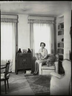 Lady Maureen Helen Stanley (née Vane-Tempest-Stewart), by Bassano Ltd - NPG x154015