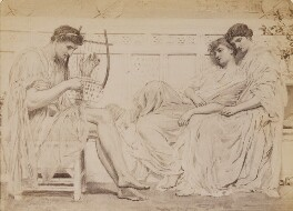 'The Musician', by William Edward Gray, after  Albert Moore - NPG P1273(16a)