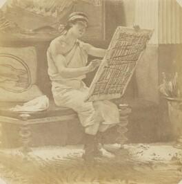 'A Roman Artist by Alma-Tadema', after Sir Lawrence Alma-Tadema - NPG P1273(17b)