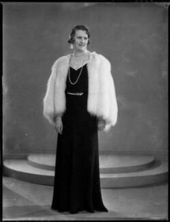 Helen Magdalen Percy (née Gordon-Lennox), Duchess of Northumberland, by Bassano Ltd - NPG x154049