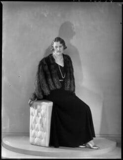 Helen Magdalen Percy (née Gordon-Lennox), Duchess of Northumberland, by Bassano Ltd - NPG x154050