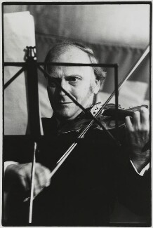 Yehudi Menuhin, by Roger Perry - NPG x131680
