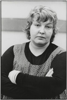 Erin Pizzey, by Roger Perry - NPG x131682