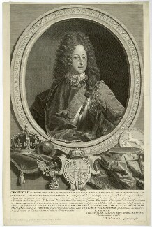 King George I, by and published by Bernard Picart (Picard), after  Unknown artist - NPG D32841