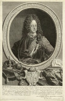 King George I, by and published by Bernard Picart (Picard), after  Unknown artist, 1714 - NPG D32842 - © National Portrait Gallery, London