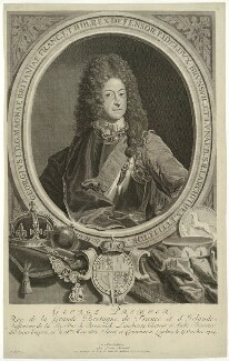 King George I, by Bernard Picart (Picard), published by  Louis Renard, after  Unknown artist, 1714 - NPG D32843 - © National Portrait Gallery, London