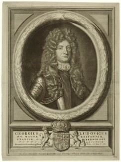 King George I, printed and published by Abraham Allard, after  Unknown artist - NPG D32844