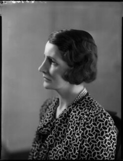 Lady Katharine Seymour (née Hamilton), by Bassano Ltd - NPG x154067