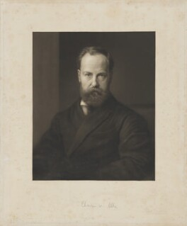 Sir Charles Wentworth Dilke, 2nd Bt, by Richard Josey, after  George Frederic Watts - NPG D32848