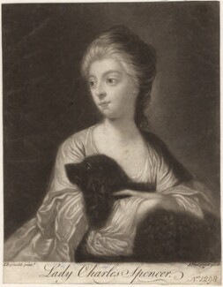 Lady Mary Spencer (née Beauclerk), by John Finlayson, after  Sir Joshua Reynolds - NPG D9188