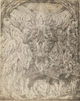 'Last Judgment', after William Blake - NPG P1273(24b)