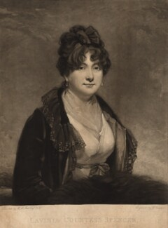 Lavinia Spencer (née Bingham), Countess Spencer, by Charles Turner, after  Sir Martin Archer Shee - NPG D9190