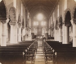 'St Peter's Church in Northampton', by Unknown photographer - NPG P1273(34)
