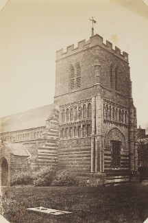 'St Peter's Church in Northampton', by Unknown photographer - NPG P1273(35a)
