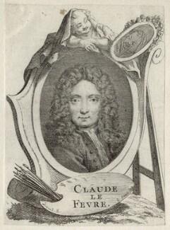 Claude le Fevre, by Etienne Fessard, after  Unknown artist - NPG D30419