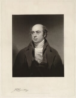 Sir Francis Leggatt Chantrey, by Charles Turner, after  Sir Henry Raeburn, published 1843 - NPG D32856 - © National Portrait Gallery, London
