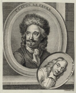 Claude le Fevre and John Hayls, by Thomas Chambers (Chambars), after  Unknown artist - NPG D30420