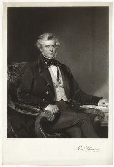 William James Chaplin, by Henry Thomas Ryall, after  Frederick Newenham - NPG D32858