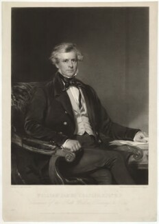 William James Chaplin, by Henry Thomas Ryall, after  Frederick Newenham - NPG D32859