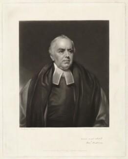 Benjamin Chapman, by George Raphael Ward, after  Thomas Phillips - NPG D32860