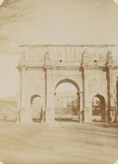 'Arch of Constantine', by Mary Elizabeth Madox Rossetti - NPG P1273(35b)