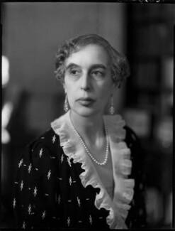 Lady (Helen) Cynthia Colville (née Crewe-Milnes), by Bassano Ltd - NPG x154125