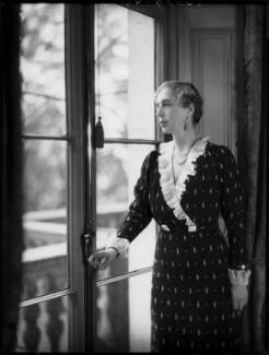 Lady (Helen) Cynthia Colville (née Crewe-Milnes), by Bassano Ltd - NPG x154127