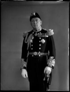 Sir Percival Thomas Nicholls, by Bassano Ltd - NPG x154134