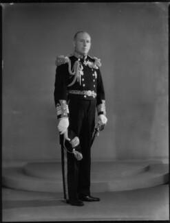 Sir Percival Thomas Nicholls, by Bassano Ltd - NPG x154135