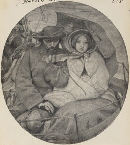 Study for 'The Last of England', after Ford Madox Brown, (1852) - NPG  - © National Portrait Gallery, London