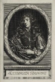 Alexander Browne, by Arnold de Jode, after  Jacob Huysmans, published 1669 - NPG D30427 - © National Portrait Gallery, London
