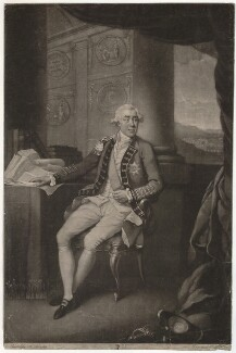 James Caulfeild, 1st Earl of Charlemont, by John Dean, after  Richard Livesay - NPG D32871