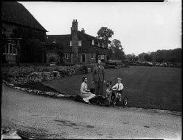 Patricia Erskine (née Norbury); Hon. (Richard) Alastair Erskine; Duncan FitzGerald Erskine, by Bassano Ltd, 23 August 1939 - NPG x154152 - © National Portrait Gallery, London